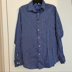 The New Ivy Brand Men's Striped Button Down Shirt